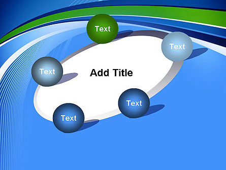 Intersection of Thin Lines PowerPoint Template Slide 14