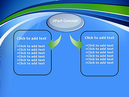 Intersection of Thin Lines PowerPoint Template Slide 4