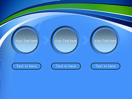 Intersection of Thin Lines PowerPoint Template Slide 5
