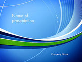 Abstract/Textures: Intersection of Thin Lines PowerPoint Template #13216