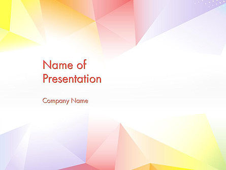 Bright Soft Pastels PowerPoint Template
