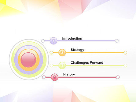 Bright Soft Pastels PowerPoint Template Slide 3