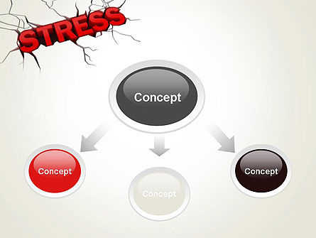 Heavy Stress PowerPoint Template, Slide 4, 13220, Medical — PoweredTemplate.com