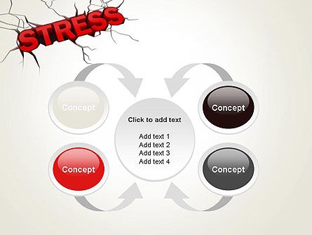 Heavy Stress PowerPoint Template Slide 6