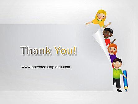 Education Cartoon PowerPoint Template Slide 20