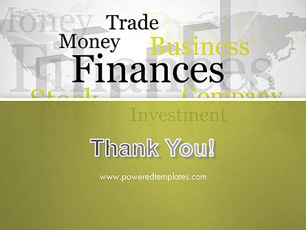 Trade Money Finances PowerPoint Template Slide 20