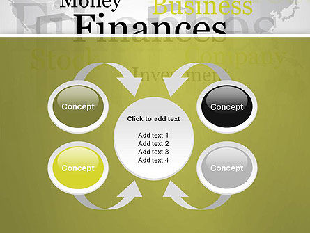 Trade Money Finances PowerPoint Template Slide 6