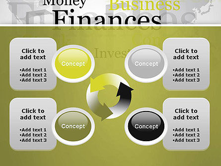 Trade Money Finances PowerPoint Template Slide 9