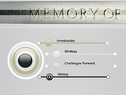 In Memory Of PowerPoint Template, Slide 3, 13225, Religious/Spiritual — PoweredTemplate.com