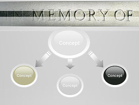 In Memory Of PowerPoint Template, Slide 4, 13225, Religious/Spiritual — PoweredTemplate.com