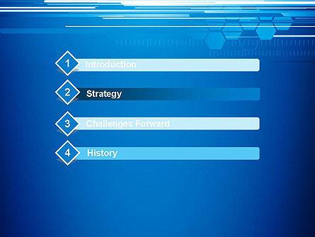 Abstract Digital Stream PowerPoint Template, Slide 3, 13227, Telecommunication — PoweredTemplate.com