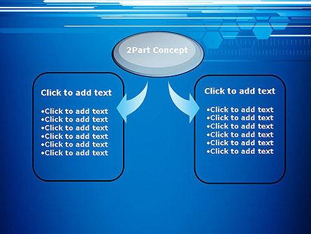 Abstract Digital Stream PowerPoint Template, Slide 4, 13227, Telecommunication — PoweredTemplate.com