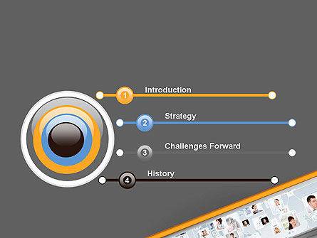People Network PowerPoint Template Slide 3