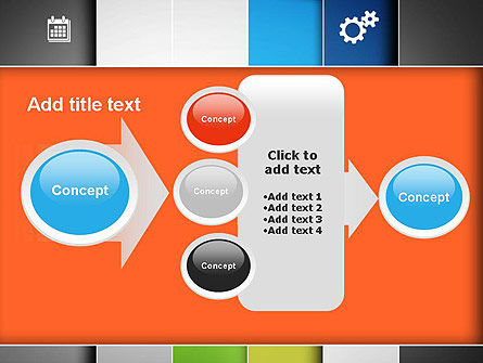 Grid Layout PowerPoint Template Slide 17