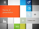 Business Concepts: Grid Layout PowerPoint Template #13231