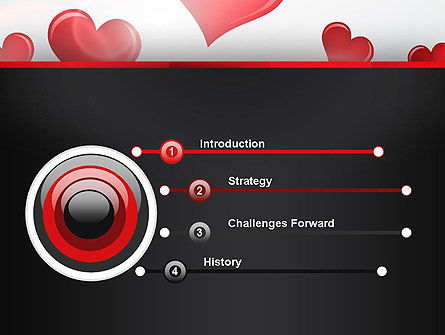Valentines Day Love PowerPoint Template Slide 3