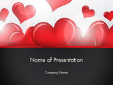 Holiday/Special Occasion: Valentines Day Love PowerPoint Template #13234