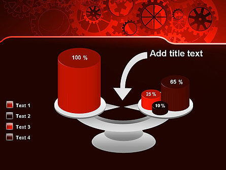 Inside Red Clock PowerPoint Template Slide 10