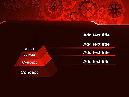 Inside Red Clock PowerPoint Template Slide 12