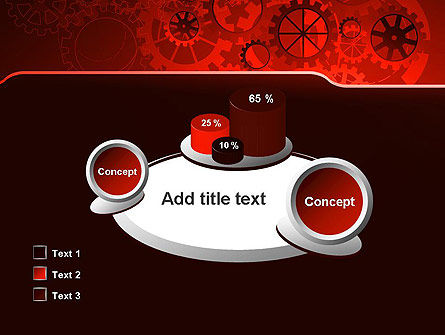 Inside Red Clock PowerPoint Template Slide 16