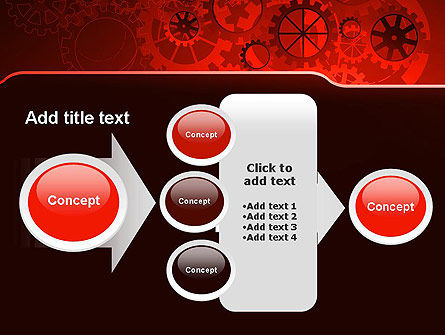 Inside Red Clock PowerPoint Template Slide 17