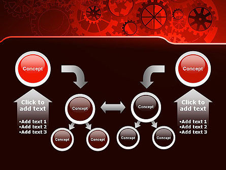 Inside Red Clock PowerPoint Template Slide 19