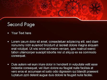 Inside Red Clock PowerPoint Template, Slide 2, 13236, Business Concepts — PoweredTemplate.com