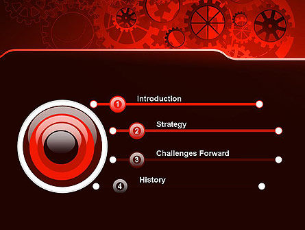 Inside Red Clock PowerPoint Template, Slide 3, 13236, Business Concepts — PoweredTemplate.com