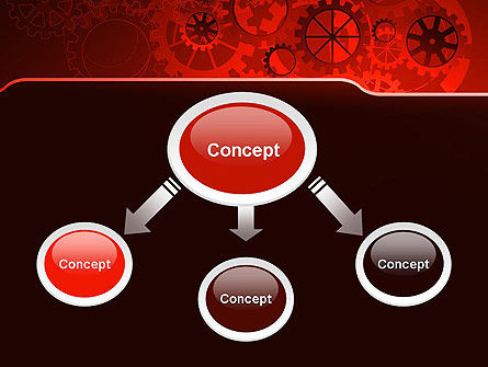 Inside Red Clock PowerPoint Template, Slide 4, 13236, Business Concepts — PoweredTemplate.com