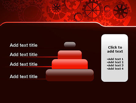 Inside Red Clock PowerPoint Template Slide 8