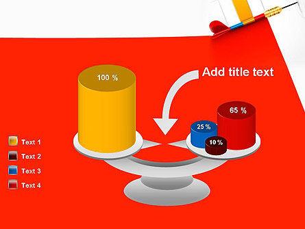 Darts Hitting Target PowerPoint Template Slide 10