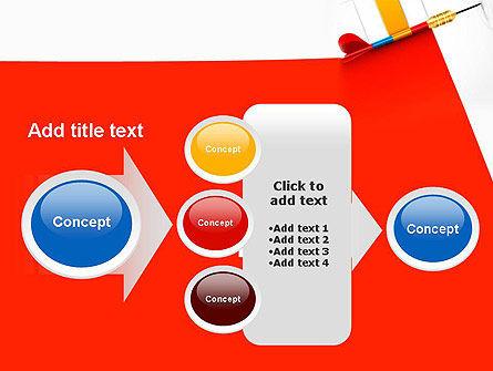 Darts Hitting Target PowerPoint Template Slide 17