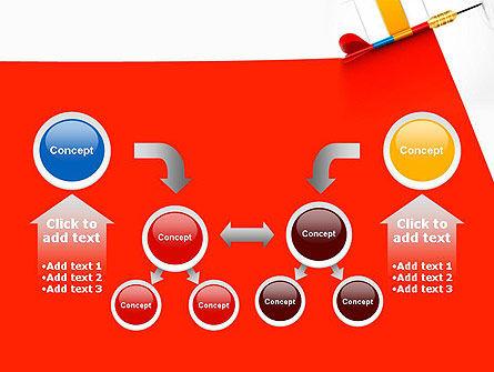 Darts Hitting Target PowerPoint Template Slide 19