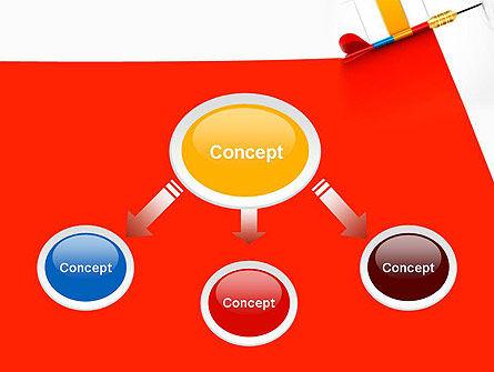 Darts Hitting Target PowerPoint Template, Slide 4, 13238, Business Concepts — PoweredTemplate.com