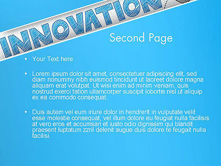 Innovation Sketch PowerPoint Template, Slide 2, 13239, Business Concepts — PoweredTemplate.com