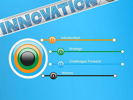 Innovation Sketch PowerPoint Template, Slide 3, 13239, Business Concepts — PoweredTemplate.com