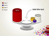 Scattered Colored Cubes PowerPoint Template#10