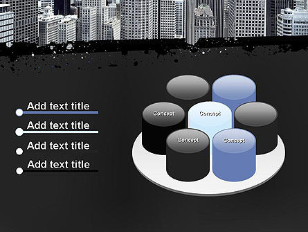 Business Skyscrapers PowerPoint Template Slide 12