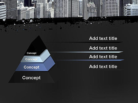 Business Skyscrapers PowerPoint Template, Slide 4, 13242, Construction — PoweredTemplate.com