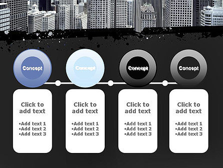 Business Skyscrapers PowerPoint Template Slide 5