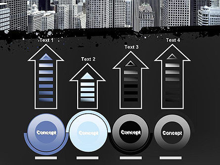 Business Skyscrapers PowerPoint Template Slide 7