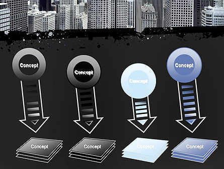 Business Skyscrapers PowerPoint Template Slide 8