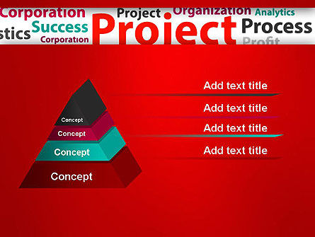 Project Word Cloud PowerPoint Template Slide 12