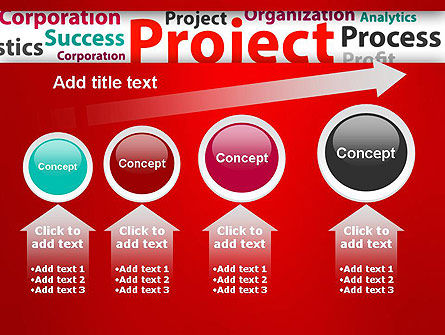 Project Word Cloud PowerPoint Template Slide 13