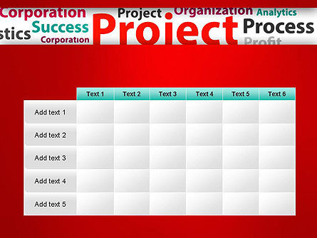 Project Word Cloud PowerPoint Template Slide 15