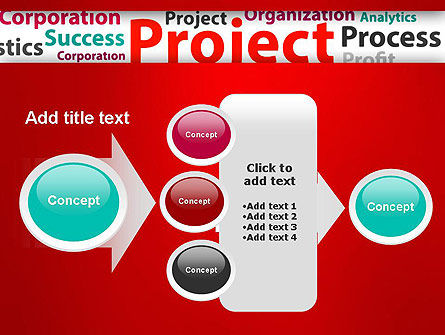 Project Word Cloud PowerPoint Template Slide 17