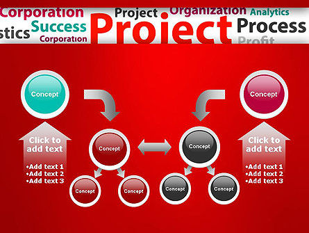 Project Word Cloud PowerPoint Template Slide 19
