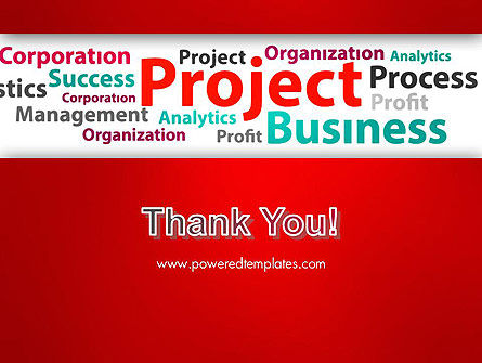Project Word Cloud PowerPoint Template Slide 20