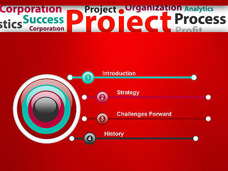 Project Word Cloud PowerPoint Template Slide 3