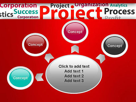 Project Word Cloud PowerPoint Template Slide 7